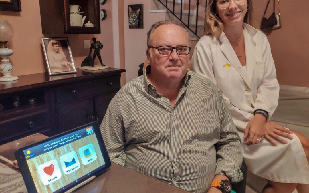 El Residencial Lago de Arcos finaliza el ensayo de telemedicina para usuarios crónicos